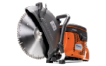 Husqvarna K760 Power Cutter, 300mm Premium Diamond Blade & 10 Oil